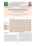 An analysis of constraints in large scale dissemination of system of rice intensification (SRI) in Odisha, India