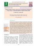 Maruka pod borer [Maruca vitrata (Geyer)] Management in Blackgram (Vigna mungo L.) in Krishna district of Andhra Pradesh, India