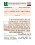 Gender mainstreaming: A participatory impact assessment of livelihood interventions among the tribal farm families in Odisha, India