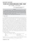 Tập hút lùi của phương trình Navier - Stokes - Voight ba chiều vô hạn