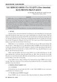 Xác định gen DREB3 của cây quýt (Citrus clementina) bằng phương pháp in silico