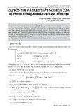Sự tồn tại và duy nhất nghiệm của hệ phương trình g-Navier-Stokes với trễ vô hạn