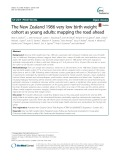 The New Zealand 1986 very low birth weight cohort as young adults: Mapping the road ahead