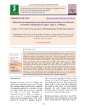 Effect of conventional and nano micronutrient fertilizers on yield and economics of pigeonpea [Cajanus cajan (L.) Mill sp.]