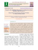 Prospective zinc solubilizing microorganisms for enhanced growth and nutrition in maize (Zea mays L.)