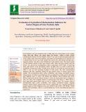 Evaluation of agricultural mechanization indicators for Eastern region of Uttar Pradesh, India