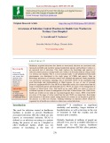 Awareness of infection control practices in health care workers in Tertiary care hospital