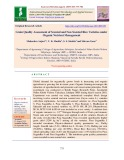 Grain quality assessment of scented and non scented rice varieties under organic nutrient management