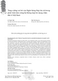 Tăng cường vai trò của Ngân hàng Hợp tác xã trong phát triển bền vững hệ thống Quỹ tín dụng nhân dân ở Việt Nam