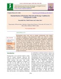 Standardization of packaging material and storage condition for pomegranate leather