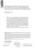 Ảnh hưởng của các nhân tố trên báo cáo tài chính đến chính sách cổ tức của các doanh nghiệp phi tài chính niêm yết trên Sở Giao dịch chứng khoán Hà Nội