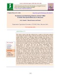 Production and marketing patterns of pearl millet in India with special reference to Haryana