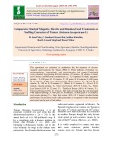 Comparative study of magnetic, electric and botanical seed treatments on seedling characters of tomato (Solanum lycopersicum L.)