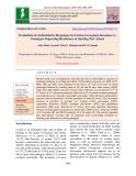 Evaluation of antioxidative responses in cotton (Gossypium hirsutum L.) genotypes imparting resistance to sucking pest attack