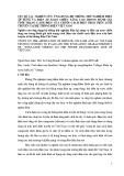 Nghiên cứu ứng dụng hệ thống thử nghiệm điện áp xung và điện áp xoay chiều tăng cao trong đánh giá tình trạng cách điện của chuỗi cách điện treo trên lưới truyền tải hệ thống điện Việt Nam