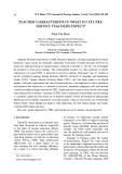 Teacher characteristics: What do efl preservice teachers expect