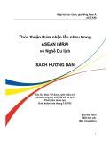 Thỏa thuận thừa nhận lẫn nhau trong ASEAN (MRA) về nghề Du lịch – Sách hướng dẫn