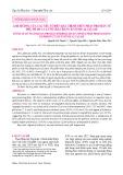 Ảnh hưởng của các yếu tố đến quá trình thủy phân protein từ phụ phẩm cá lưỡi trâu bằng enzyme alcalase