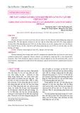 Chế tạo và khảo sát khả năng hấp phụ ion Cr(VI) của vật liệu chitosan xốp