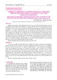 Nghiên cứu ảnh hưởng của phương pháp xử lí và điều kiện chiết rút đến chất lượng của gelatin từ da cá tra (Pangasianodon hypophthalmus)