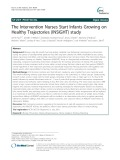 The Intervention Nurses Start Infants Growing on Healthy Trajectories (INSIGHT) study