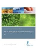 Báo cáo toàn cảnh sáng chế về vắc-xin phòng ngừa các bệnh truyền nhiễm chọn lọc
