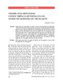 Tìm hiểu về sự hình thành và phát triểncủa hệ thống lý luận xã hội chủ nghĩa đặc sắc Trung Quốc