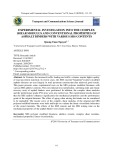 Thực nghiệm đánh giá mô đun cắt phức và các chỉ tiêu cơ lý cơ bản của nhựa đường với hàm lượng phụ gia SBS khác nhau