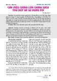 Cần điều chỉnh lớn chính sách thu hút và sử dụng FDI