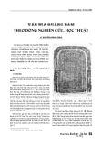 Văn bia Quảng Nam theo dòng nghiên cứu, học thuật