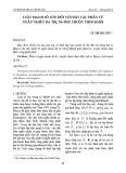 Luật mạnh số lớn đối với dãy các phần tử ngẫu nhiên đa trị, M-phụ thuộc theo khối