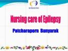 Bài giảng Nursing care of epilepsy