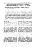 Hoàn thiện quy trình nhân giống cây Khôi tía (Ardisia sylvestris Pitard) bằng kỹ thuật nuôi cấy in vitro