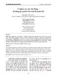 Ý nghĩa của câu chủ động – Bị động qua phân tích mật độ mệnh đề
