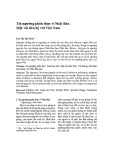 Tín ngưỡng phồn thực ở Nhật Bản - Một vài liên hệ với Việt Nam