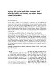 Sự thay đổi quyền quyết định trong gia đình mẫu hệ (Nghiên cứu trường hợp người Raglai ở tỉnh Khánh Hòa)