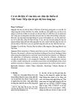 Cơ sở dữ liệu về văn hóa các dân tộc thiểu số Việt Nam: Tiếp cận từ góc độ bảo tàng học