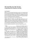 Một số đặc điểm của trí thức Việt Nam trong kháng chiến chống thực dân Pháp