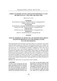 Nghiên cứu hấp phụ asen (III), amoni từ dung dịch bằng vật liệu hỗn hợp nano CeO2 – Mn2O3 trên than hoạt tính