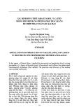 Xác định đồng thời paracetamol và cafein trong hỗn hợp bằng phương pháp trắc quang kết hợp thuật toán lọc Kalman