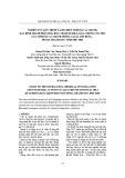 Nghiên cứu quy trình tách chiết tinh dầu sả chanh, xác định thành phần hóa học, thăm dò khả năng chống ung thư của tinh dầu sả chanh trồng tại xã Sơn Hùng – huyện Thanh Sơn- tỉnh Phú Thọ