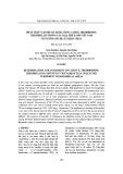 Phân tích và đánh giá hàm lượng Cafein, Theobromin, Theophyllin trong các loại chè xanh Việt Nam có nguồn gốc địa lý khác nhau