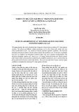 Nghiên cứu khả năng hấp phụ Cd2+ trong dung dịch nước bằng vật liệu lá thông ba lá tại Đà Lạt