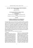 Tổng hợp và biến tính TIO2 từ quặng Ilmenite Bình Định bằng Thioure