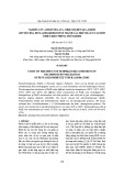 Nghiên cứu ảnh hưởng của nhiệt độ đến quá trình chuyển hóa Pentachlorobenzene thành các hợp chất ít clo hơn ở điều kiện phòng thí nghiệm