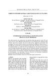 Nghiên cứu tổng hợp nano Mn3O4 và khả năng quang xúc tác của chúng