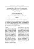 Đánh giá khả năng ức chế ăn mòn của 1,2,3-Benzotriazol đối với các mẫu hợp kim đồng, phục vụ công tác bảo quản hiện vật trong bảo tàng