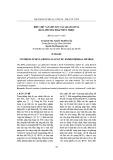 Điều chế vật liệu xúc tác quang BiVO4 bằng phương pháp thủy nhiệt