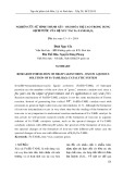 Nghiên cứu sự hình thành sắt - Oxo hóa trị cao trong dung dịch nước của hệ xúc tác Fe-TAML/H2O2