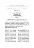 Sự hấp phụ Pb2+ và Cu2+ trong nước của vật liệu silica được tổng hợp từ tro đốt lò gạch